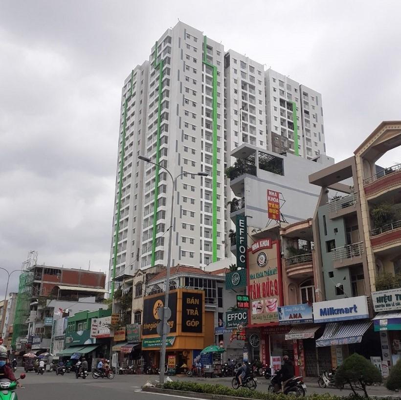 cho thuê chung cư Green Field Bình Thạnh