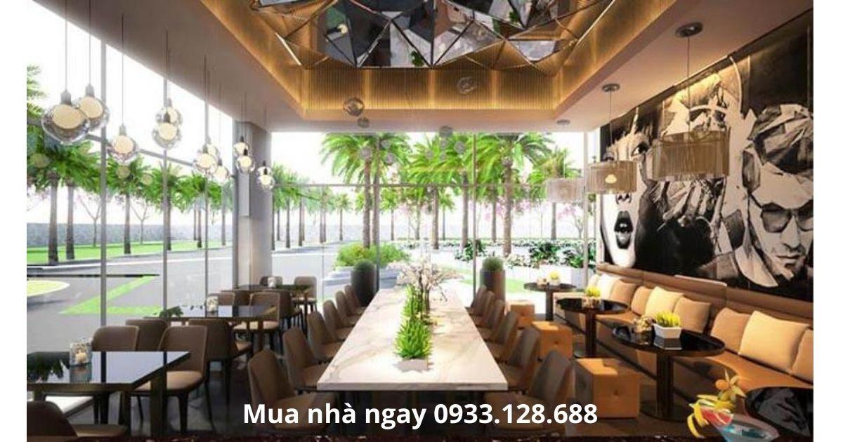 Phòng sinh hoạt công cộng tại căn hộ Green Field 686 Bình Thạnh HCM