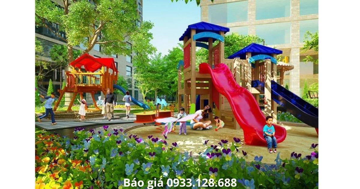 Sân chơi trẻ em căn hộ Green Field 686 Bình Thạnh