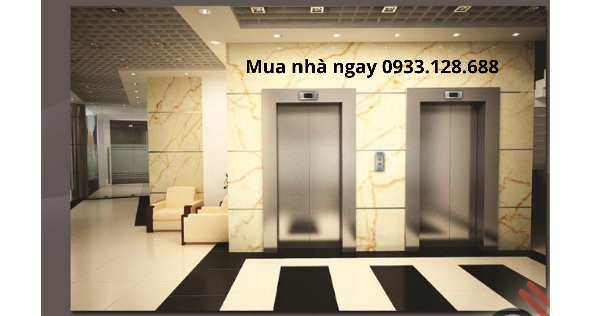 Hệ thống thang máy căn hộ Green Field 686 Bình Thạnh HCM