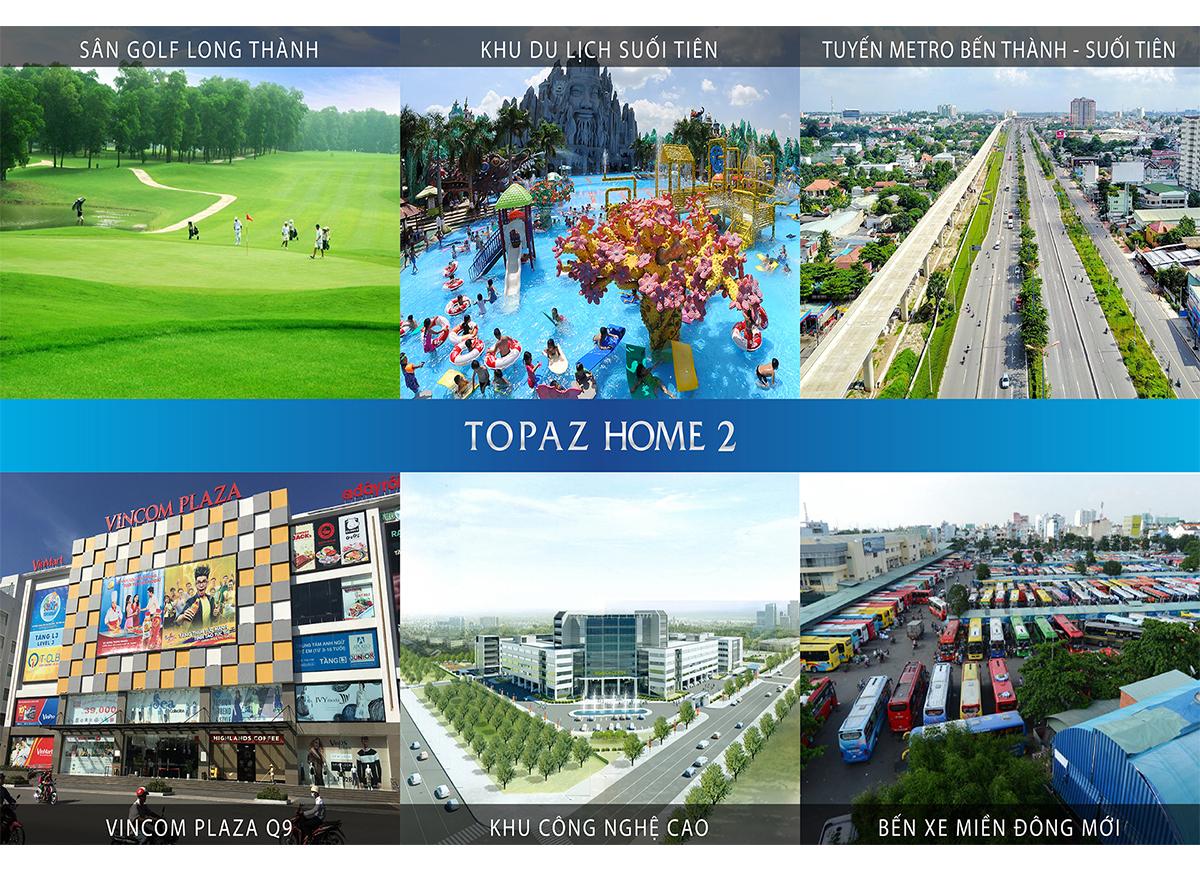 Tiện ích ngoại khu Topaz Home 2 quận 9 - thỏa sức giải trí!