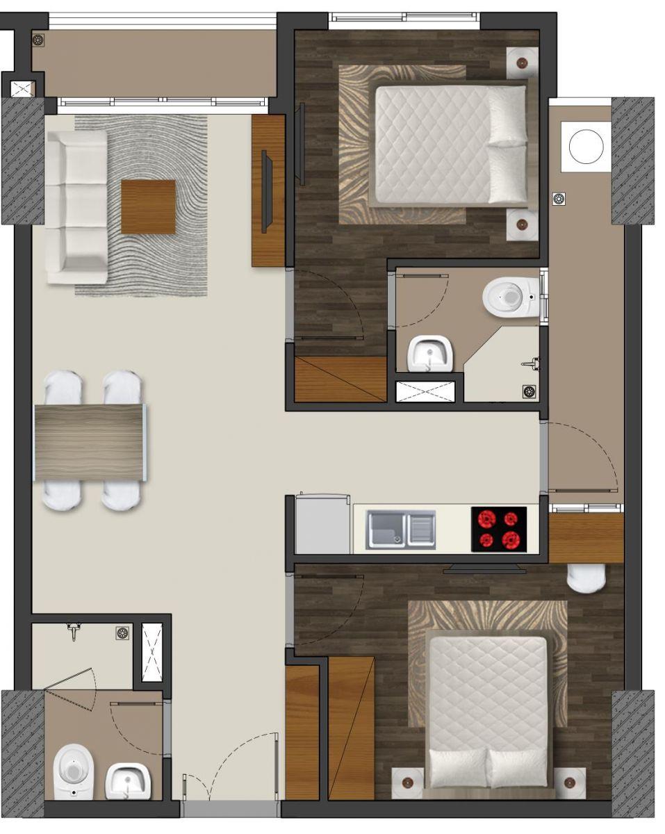 căn hộ chung cư richmond