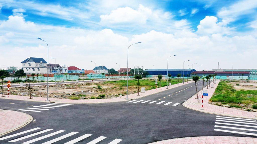 đất nền dự án sổ hồng riêng Thuận An Bình Dương